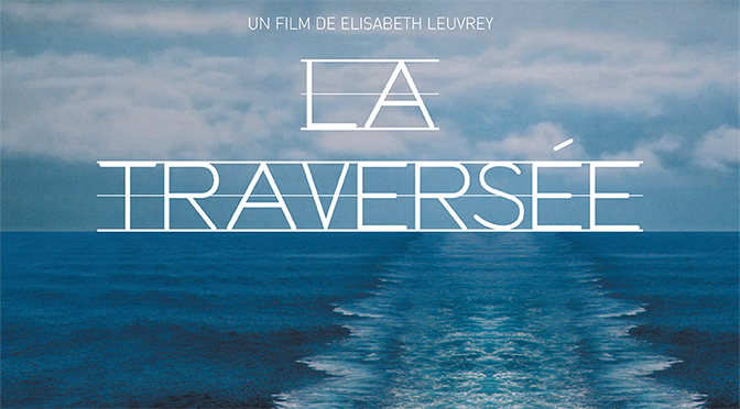Projection en plein air du film La Traversée